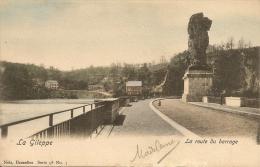 La Gileppe.La Route Du Barrage.(couleur Carte) - Baelen