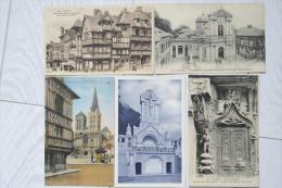 14 CPA  Lisieux Jardins , Monument Ste Therese , Basilique , Chapelle Du Carmel -  MI07 - 5 - 99 Cartes