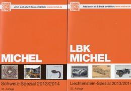 Schweiz+Liechtenstein LBK / MICHEL Spezial Briefmarken Katalog 2013/2014 Neu 68€ UNO Genf Ämter Catalogues Of Helvetia - Liechtenstein