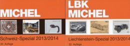 Schweiz+Liechtenstein LBK / MICHEL Spezial Briefmarken Katalog 2013/2014 Neu 68€ UNO Genf Ämter Catalogues Of Helvetia - Phonecards
