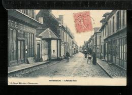 NONANCOURT - Grande Rue - Poste - Francia