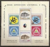 BRUSELAS'58 - NICARAGUA 1958 - Yvert #H86 - MNH ** - 1958 – Brussels (Belgium)