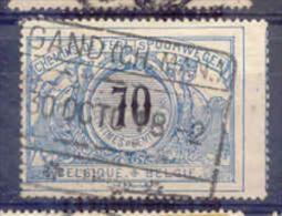 F418 -België  Spoorweg Chemin De Fer  Met Stempel GAND (CH.MAN.)   *         * - 1895-1913