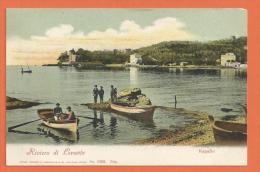 HB482, Riviera Di Levante, Rapallo, Animée, Précurseur, 11188, Non Circulée - Altre Città