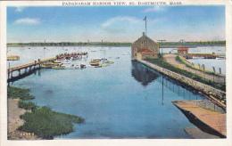 MW/   1920s Padanaram Harbor Dartmouth Mass. - Etats-Unis