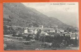 HB489, San Germano Chisone, Circulée 1920 Cachet Chavornay - Autres Villes