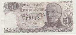 Argentina 50 Peso 1976-78 Pick 301b UNC - Argentina