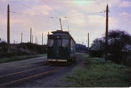 Photo Grimsby & Immingham Electric Railway BR 16 Tramway GCR Tram C1960 - Trains
