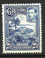 GRENADA..1937..Michel # 128 A...MLH. - Grenada (...-1974)
