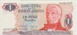 Argentina 1 Peso 1983-84 Pick 311 UNC - Argentina