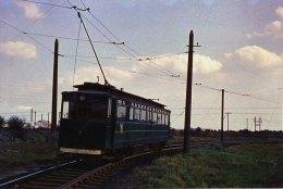 Photo Grimsby & Immingham Electric Railway BR 4 Tramway GCR Tram C1960 - Trains