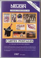 Neudin 1987, L´officiel International Des Cartes Postales - Livres
