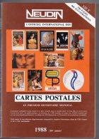 Neudin 1988, L´officiel International Des Cartes Postales - Livres