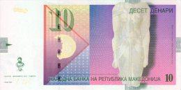 Macedonia,10 Denari,P.14i,12.2011,UNC,signet Governer:Bogov,as Scan - Macedonia
