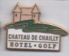Beau Pin´s En EGF , Château De Chailly , Hôtel Golf , Pouilly En Auxois - Golf