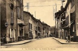 O-COUZON AU MONT D'OR-RHONE-2 LA GRANDE RUE-LE CENTRE DU BOURG - France