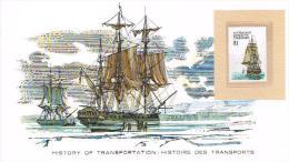 Histoire DesTransports Australian Antartic Territory 1$ - Bateaux