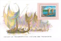 Histoire DesTransports Cook Islands 1.1/2c - Bateaux