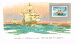 Histoire DesTransports Grenada 4c - Boten