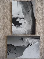 CHAMONIX : Lot De 2 CP Représentant Des Vues Insolites De La Chaîne Du MONT BLANC (Pierre TAIRAZ) - Chamonix-Mont-Blanc