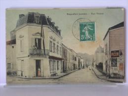 ROQUEFORT (40) - RUE THIERS - ANIMEE - 1908 - Roquefort