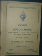 COURS AUTO-CHARS.2eme Partie.192 Pages.Dim280x185 - Catalogues