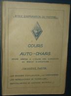 COURS AUTO-CHARS.3eme Partie.269 Pages+37 Pages.Dim280x185 - Catalogues