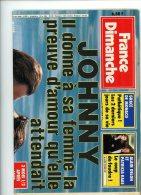 France Dimanche 2299 Hallyday Grace Kelly Lama Pacome Rapp Francoise Giroud Cutugno Nicholson Delon Kaas - People