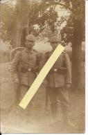 Soldats Allemands RIR 214 Avant Départ Pour Le Front (argonne) Carte Photo Allemande Poilus 1914-1918 14-18 Ww1 WWI 1.wk - War, Military