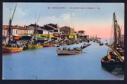 LE GRAU DU ROI -  LES JOUTES DANS LE CANAL - Le Grau-du-Roi
