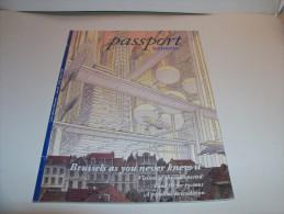 SCHUITEN. PEETERS. PASSPORT SABENA Airlines. Brussels As You Never Knew It. 1995. Couverture Couleurs De SCHUITEN. - Objets Publicitaires