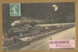 UN SOUVENIR DE PELUSSIN - TRAIN - Pelussin
