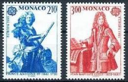 Cept 1985 Monaco Yvertn° 1459-60 *** MNH - Europa-CEPT