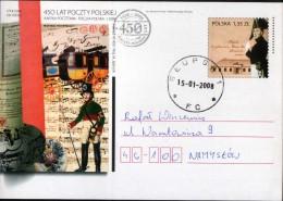 Poland Pologne, 450 Years Of Polish Post: Kingdom Of Poland 1816-1831, Post History, Postman. 2008. - Poste