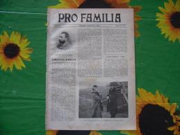 PRO FAMILIA N.120 1903 Filippo Crispolti PESCA DELLE SARDINE CAMPANILOE COMO PATTINAGGIO A MILANO - Société, Politique, économie