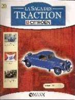 Facicule La Saga Des Traction N° 20 - Littérature & DVD