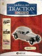 Facicule La Saga Des Traction N° 8 - Littérature & DVD