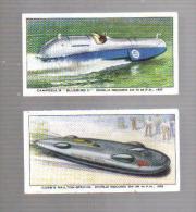 P905 - 2 TICKETS DE PESEE - MAJOR CAMPBELL BLUEBIRD - JOHN COBB RAILTON SPECIAL - Unclassified