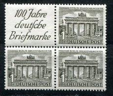 1860 - BERLIN - Zusammendruck W1 Oder S1, Postfrisch - WEST BERLIN - Mnh Se-tenants - [5] Berlin