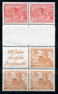 1861 - BERLIN - Zusammendrucke SZ3B Und SZ4B, Postfrisch - WEST BERLIN - Mnh Se-tenants - [5] Berlin