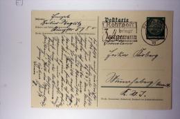 Germany: Postkarte Mit Stempel Rohrpost Bringt Zeitgewinn, 1937 - Deutschland