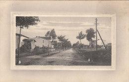 Cpa/pk 1910 Langemark Langemarck  Electricite Rue Maisons - Langemark-Poelkapelle