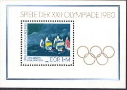 OOST-DUITSLAND MI.NR.BLOCK 60  MNH / POSTFRIS / NEUF SANS CHARNIERE 1980 - [6] Oost-Duitsland