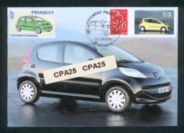 Peugeot - Lancement De La Peugeot 107 à Sochaux En 2005 - Personnalisé 3729 A Peugeot 107 - Personalizzati
