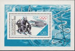 OOST-DUITSLAND MI.NR.BLOCK 90  MNH / POSTFRIS / NEUF SANS CHARNIERE 1988 - [6] Oost-Duitsland