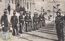 MONACO 1908, Carabiniers, Gardes D'Honneur Du Prince - Grande Tenue, Phot. Giletta Frères Nice - Fürstenpalast