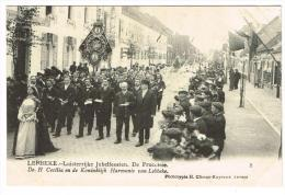 """Lebbeke - Luisterrijke Jubelfeesten - De Processie - De H. Cecilia En De Koninklijk Harmonie Van Lebbeke"" - Lebbeke"