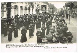"""""""Lebbeke - Luisterrijke Jubelfeesten - De Processie - Groep Van Den H. Antonius Van Padua En Van Den H. Josef"""" - Lebbeke"""