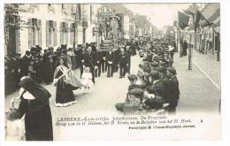 """""""Lebbeke - Luisterrijke Jubelfeesten - De Processie - Groep Van De H. Helena, Het H Kruis En De Beloften Van Het H Hart"""" - Lebbeke"""