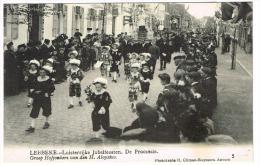 """Lebbeke - Luisterrijke Jubelfeesten - De Processie - Groep Hofjonkers Van Den H. Aloysius"" - Lebbeke"